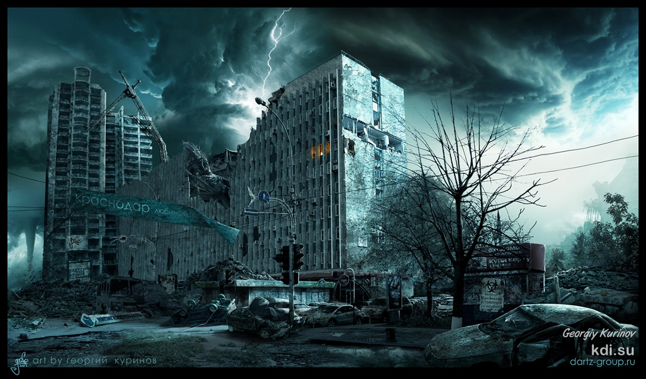 Apocalypse in city