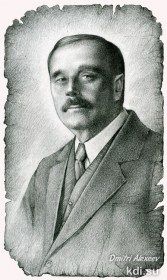 Portrait H. G. Wells