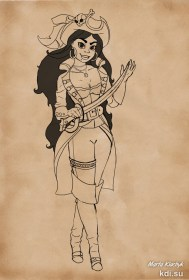 Drawn Girl pirate