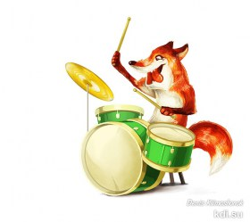 Drawn Fox musician