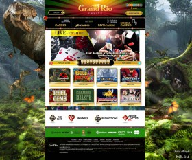 Website background - Jurassic park theme