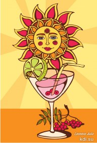 Drawn Sunny cocktail